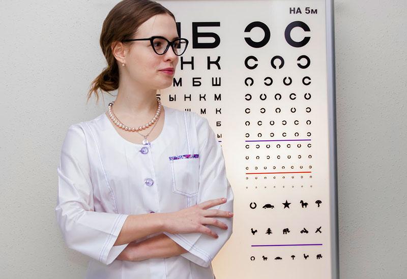 Проверка зрения Николаев